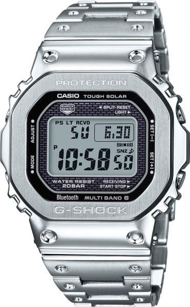 Bracelet montre Casio en acier inoxydable GMW B5000D 1