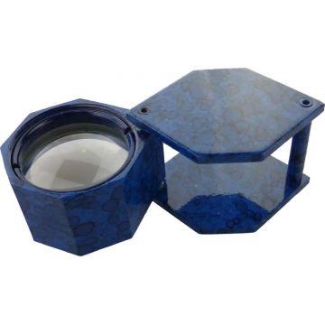 Juweliers Loep 10x Blauw