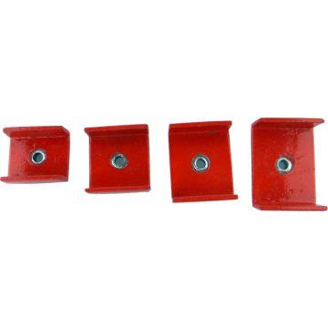 Horlogepers opzetstukken Rechthoekig 4-delig