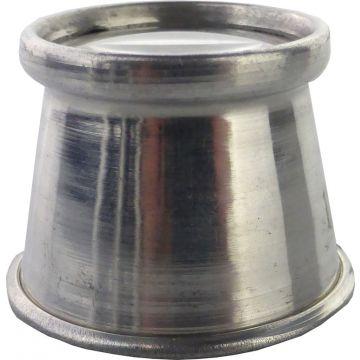 Juweliers Oogloep 1x Aluminium