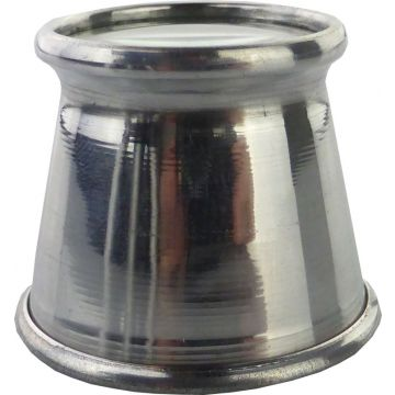 Juweliers Oogloep 2x Aluminium