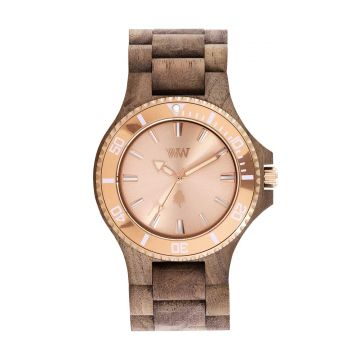 WeWood Date MB Nut Rough Rose Gold