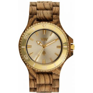 We Wood DATE MB ZEBRANO ROUGH GOLD