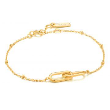 Ania Haie AH B021-01G Chain Reaction Armband