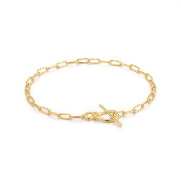 Ania Haie Forget me Knot AH B029-01G Armband 18,5 cm