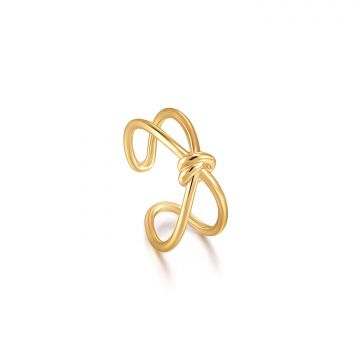 Ania Haie Forget me Knot AH R029-02G Ring One-size