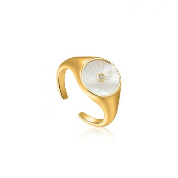 Ania Haie Wild Soul AH R030-03G Ring One-size