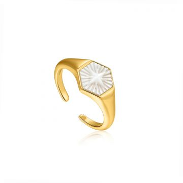 Ania Haie Wild Soul AH R030-04G Ring One-size