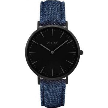 Cluse LA BOHÈME FULL BLACK/BLUE DENIM CL18507