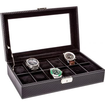 LA ROYALE CLASSICO 12 CARBON Watchbox