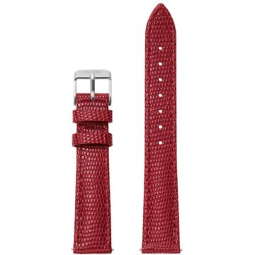 Cluse Minuit Strap Deep Red Lizard/Silver CLS381