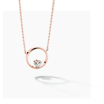 FJF JEWELLERY NECKLACE ICON HEART FJF0010005RWH