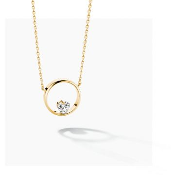 FJF JEWELLERY NECKLACE ICON HEART FJF0010005YWH