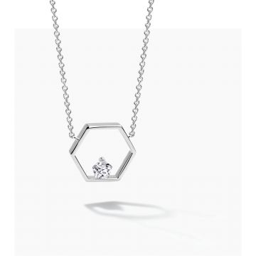 FJF JEWELLERY NECKLACE ICON PENTAGON FJF0010008SWH