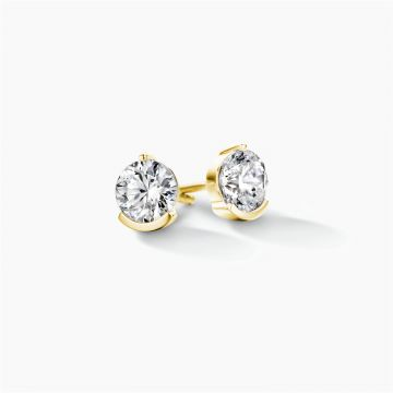 FJF JEWELLERY EARRINGS CLASSIC 6MM FJF0030001YWH