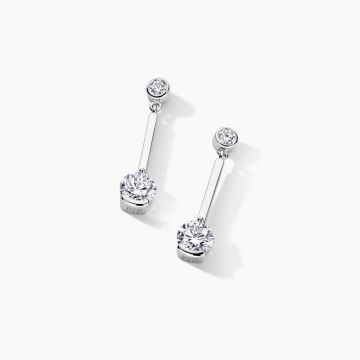 FJF JEWELLERY EARRINGS CLASSIC PENDULUM FJF0030011SWH