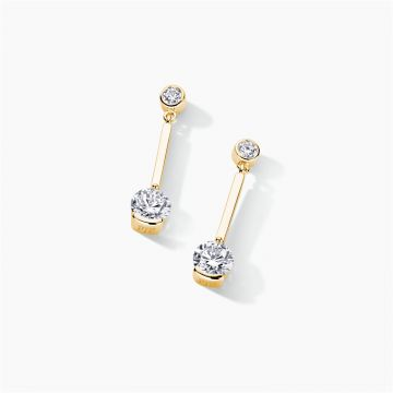 FJF JEWELLERY EARRINGS CLASSIC PENDULUM  FJF0030011YWH