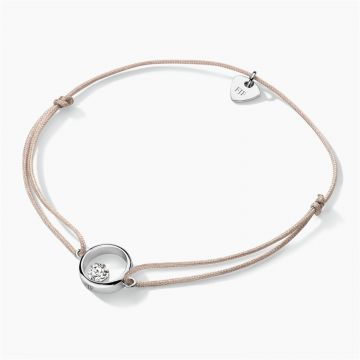 FJF JEWELLERY CORD-BRACELET ICON HEART FJF0060103SWH