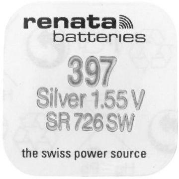 Renata 397 horloge batterij 1.55v