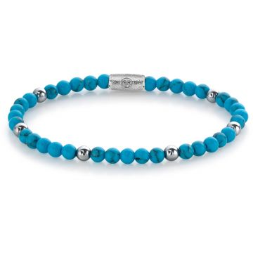 Rebel & Rose More Balls Than Most Turquoise Delight - 4mm RR-40058-S