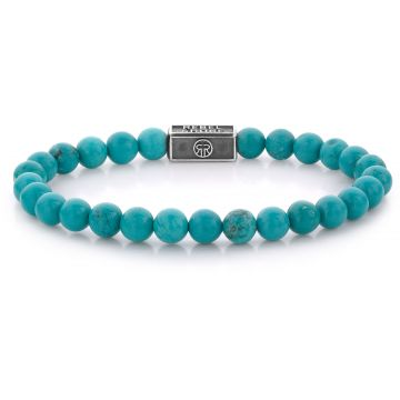 Rebel & Rose Silverbead Turquoise Delight 925 - 6mm RR-6S001-S