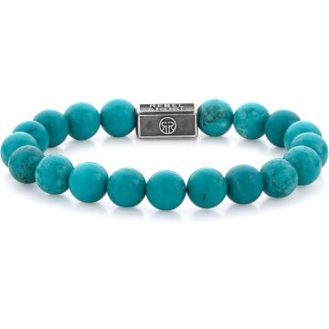 Rebel & Rose Silverbead Turquoise Delight 925 - 8mm RR-8S001-S