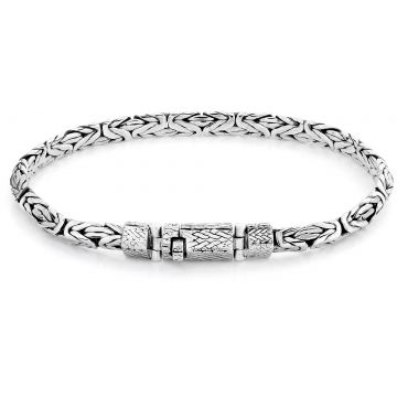 Rebel & Rose Sterling Silver Line Sphinx Pyramid RR-BR020-S
