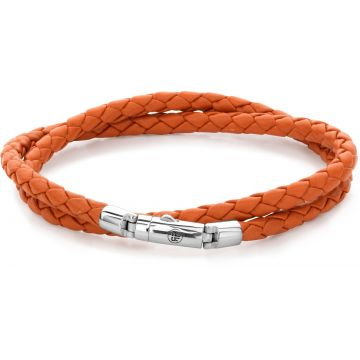 Rebel & Rose Absolutely Leather Twisted Round Orange RR-L0096-S
